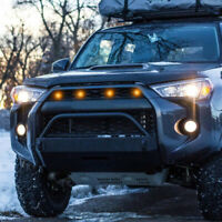 For Raptor Style Amber LED Grille Foglights for Toyota FJ Cruiser 4Runner Tacoma