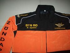 NEU ZÜNDAPP GTS 50 5-Speed Oldtimer Fan-Jacke schwarz orange veste jacket jas