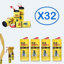 (X32) Attrape Mouche Ruban Glue Tue Mouche Colle Piège Insecte Volant NON TOXIQU