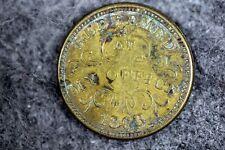 1863 - Troy New York Brass/Oliver Boutwell Miller Trade Token! #J08494