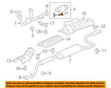 HONDA OEM 11-13 Odyssey 3.5L-V6 Exhaust-Converter Bolt 18176PT0003
