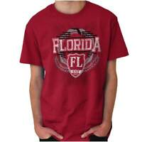 Florida Traditional Tourist Travel Souvenir Short Sleeve T-Shirt Tees Tshirts