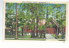 Christ Episcopal Church   Cooperstown NY   Unused  Postcard 744