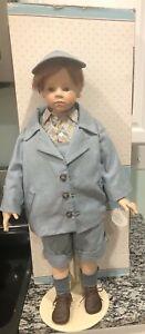 """1996 WPM by Hildegard Gunzel 27"""" Boy Doll 645 Kevin 143/750"""
