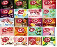 Nestle Kit Kat, Kitkat Japan Limited, Orange, Ice Cream, Sakura Kinako, Yuzu etc