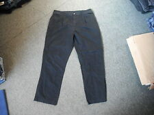 "BHS Classic Fit Chino Jeans Waist 40"" Leg 31"" Black Faded Mens Jeans"