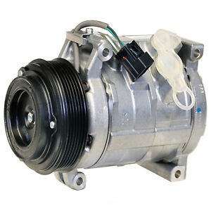 A/C  Compressor And Clutch- New   DENSO   471-0705
