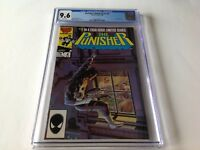 PUNISHER LIMITED SERIES 4 CGC 9.6 WHITE JIGSAW APP MIKE ZECK MARVEL COMICS