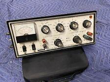 Vintage Heath Heathkit Sine-Square Audio Generator SG-18A Tested Working