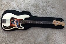2011 Fender American Special Precision Bass Guitar In White 60th Anniversary