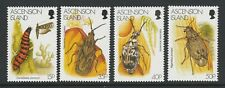 Ascension 1998 Insects set SG 737-740 Mnh.