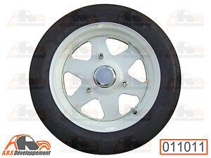 JANTE NEUVE + pneu 135-15 Citroen 2CV DYANE MEHARI AMI6 AMI8 ACADIANE  -011011-