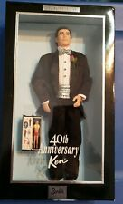 40th Anniversary Ken Barbie 2001, Mib Nrfb - 50722 Has Mini Original Ken Doll