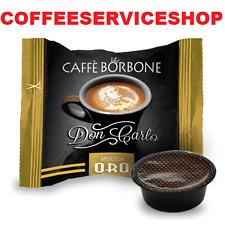 300 CAPSULE CAFFE BORBONE DON CARLO ORO COMPATIBILI LAVAZZA A MODO MIO