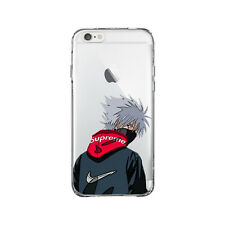 Hatake Kakashi Supreme Naruto for iPhone 6Plus 6SPlus Clear Case cover