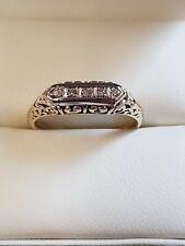 14ct Yellow gold Diamonds Ring