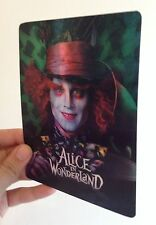 Alice in Wonderland Magnet 3D lenticular Flip effect for Steelbook