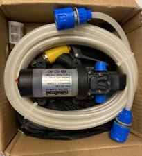 12V High Pressure Self-Priming Electric Car Portable Wash Washer Kit Water Pump