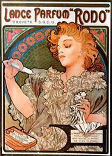Repro Art Nouveau Print  ' Lance - Parfum.' by Alphonse Mucha