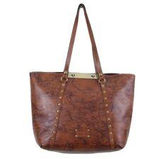 New ListingPatricia Nash Signature Map Print Leather Benvenuto Tote Shoulder Bag Nwt $249