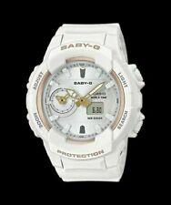 Casio Women's Baby-G Analog & Digital White Resin Watch BGA230SA-7A