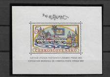 1962 MNH Tschechoslowakei Mi block 16A