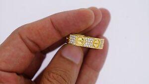 2 Ct VS Diamonds Mens  Custom Design Ring 10k Solid Gold Best Price Video ASAAR