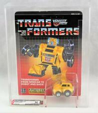 Transformers Original G1 AFA 80 Pre Rub Yellow Bumblebee MOSC 75/80/85