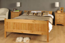 King Size Bed in Pine 5ft King Size Bed Wooden Frame PINE