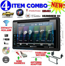 GM CAR-TRUCK-VAN-SUV CD/DVD BLUETOOTH RADIO STEREO DOUBLE DIN