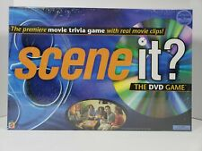 Scene It? The DVD Game - Movie Trivia Game Family/Friends - New, Unopened