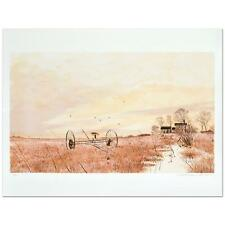"""WILLIAM NELSON """"THE HAYFIELD"""" LIMITED EDITION LITHOGRAPH, HAND SIGNED"""
