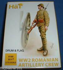 HAT 8160 - WW2 ROMANIAN ARTILLERY CREW - 1/72 SCALE PLASTIC