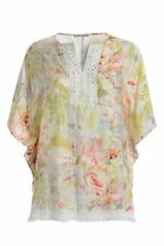 Geblümte Tunika Damenblusen, - Tops & -Shirts in Größe 40