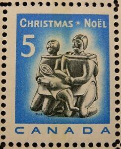 CANADA 1968 SG630 5c. CHRISTMAS. ESKIMO FAMILY (CARVING)  -  MNH