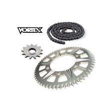 Kit Chaine STUNT - 15x65 - CBR600 F4i FS  01-06 HONDA Chaine Grise