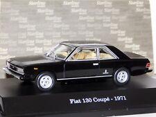 FIAT 130 COUPE 1971 BLACK STARLINE 1/43