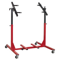 Engine Rebuild Stand - Multi Cylinder 75kg Capacity | SEALEY MES02 by Sealey | N