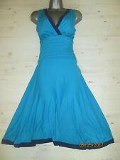 Size 10 C/RC Bravissimo/Pepperberry Turquoise Summer Dress