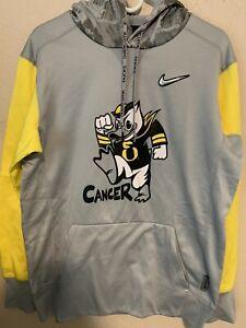 Nike OREGON DUCKS Hoodie Doernbecher Pullover Size Medium M Rare Stomp Cancer