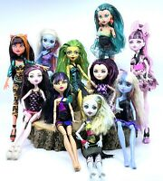 Lot of 10 Monster High Ever After High Dolls Lot of 10