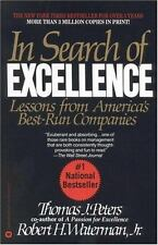 In Search of Excellence: Lessons from Americas Best Run Companies Waterman, Jr.