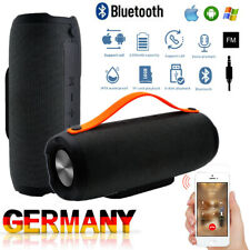 Tragbarer Wireless Bluetooth Lautsprecher Stereo Subwoofer Musikbox Wasserdicht