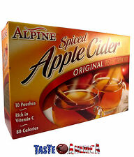 Alpine Spiced Apple Cider Original Drink Mix American 210g Box