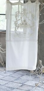 Blanc Mariclò Collezione Nabucco Tenda finestra 100% Lino