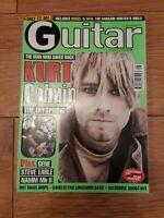 GUITAR MAGAZINE VOL. 9 NO.8 (APRIL 1999) KURT COBAIN THE OFFSPRING STEVE EARLE