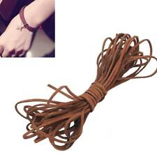 Faux Suede Velvet Leather Cord Thread for Bracelet Necklace Making DIY Craft