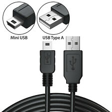 USB A to Mini 5pin Male Data Sync Charger Cable for GPS Camera PS3 MP4 Speakers