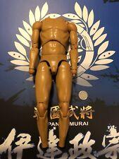 "COO Models Japan Samurai Data Masamune 12"" Nude Body loose 1/6th scale"