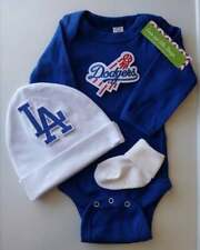 Dodgers baby/infant boy outfit  Dodgers baby clothes Dodgers baby gift